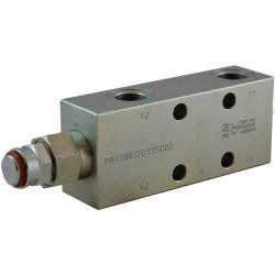 Single counterbalance 1/2 A VBSO SE 33 CCAP FC1 PLVUR 12C 8:1