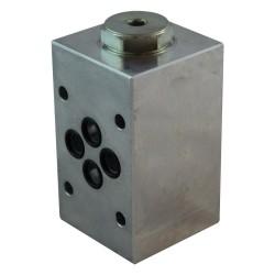 Cetop3 modular Cartridge 2x2 sur A non compris