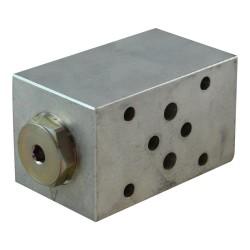 Cetop3 modular Cartridge 2x2 sur B non compris