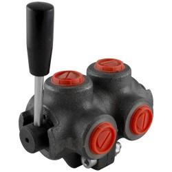 "Manual valve - 2x3V - 3/4"" - Open centre"