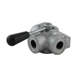 "Manual valve - 3V - 1/2"" - Open centre"
