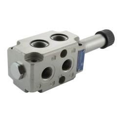 Déviateur 6V 90l/mn 1/2 VS281F 6BI sans bobine C65 - empilable