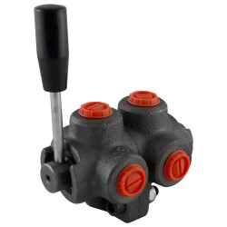 "Manual valve - 2x3V - 1/2"" - Closed center"