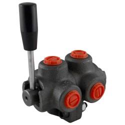 "Manual valve - 2x3V - 1/2"" - Closed center"