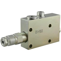Flangeable single counterbalance valve