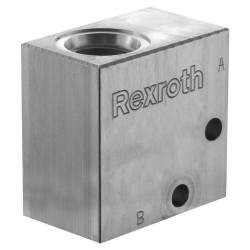 """Block 1/4"""" aluminium cavity 018"""