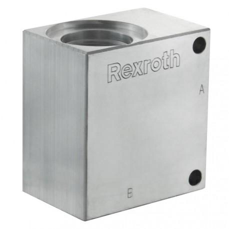 """Bloc 3/4"""" aluminium cavité 017"""