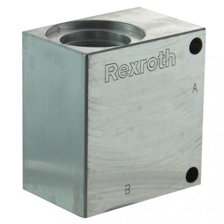 """Block 1/2"""" aluminium cavity 017"""