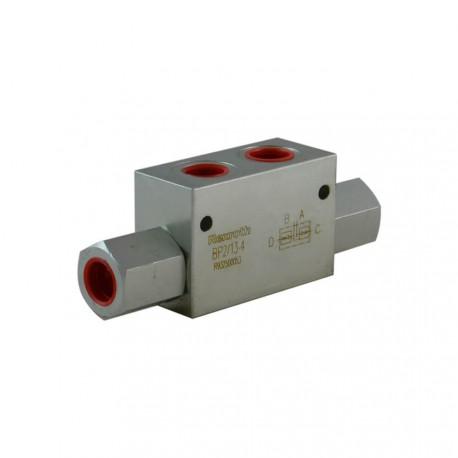 Clapet piloté DE 1/2 acier serie 2/13 4bar