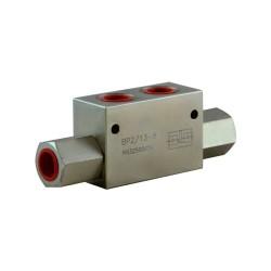 Clapet piloté DE 1/2 acier serie 2/13 8bar