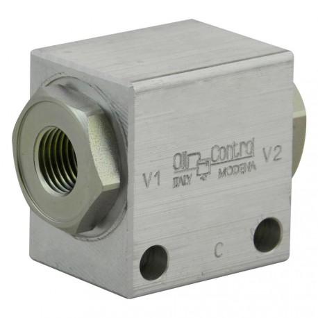 "Shuttle valve aluminium 1/4"" VFC NC 14 A"