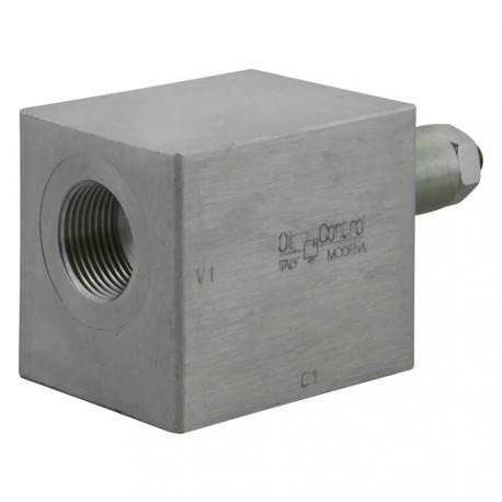 "Hose burst check valve 1/4"" outer setting"