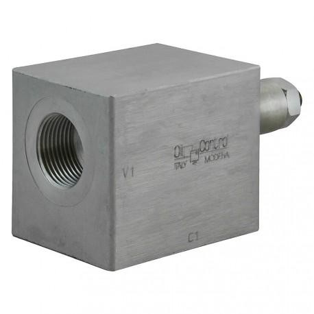 "Hose burst check valve 1/2"" outer setting"