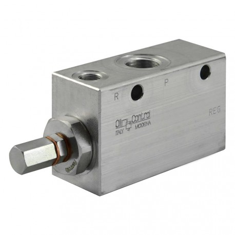 "Pressure reducer 120l/mn block 1/2"" VRPC.150.12.200 bar max"