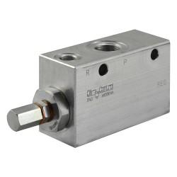 "Pressure reducer 120l/mn block 3/4"" VRPC 150 V 34 200 bar max"