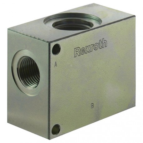 "Block 1/2"" steel cavity 017 commande manuelle"