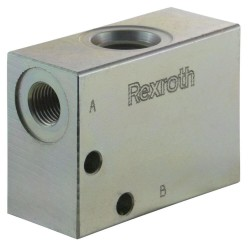 "Block 1/4"" steel cavity 018 commande manuelle"