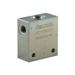 "Block 1/4"" steel cavity 051 - 3-way CA 08A 3N"