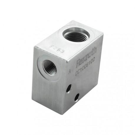 Bloc 1/4 acier cavité 019/V0960001 nez de 15.8