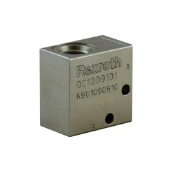 Bloc 3/8 acier cavité 019/V096001 nez de 15.8