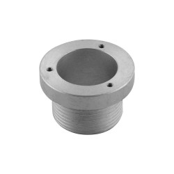 "Threaded aluminium flange 1""1/4 for electric level indicator"