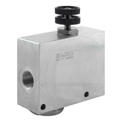 2-way flow regulator 1/2""