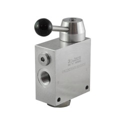 "2-way flow regulator 1/2"" with lever"