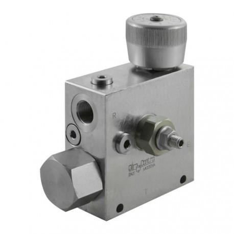 "3-ways flow regulator 3/8"" VRFC3 VSAN M 38A"