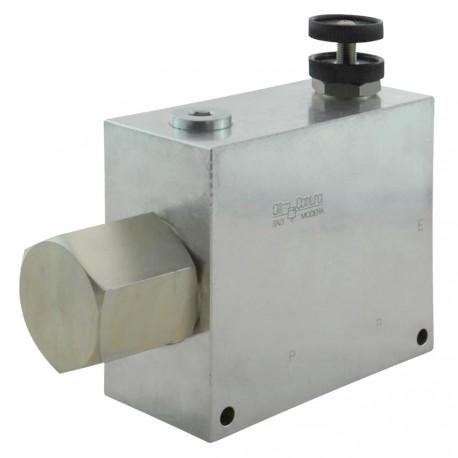 """3-ways flow regulator 3/4"""" VRFC3C V 34.A"""