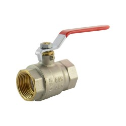 "Ball valve brass 1"" F/F"