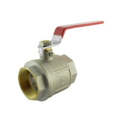 "Ball valve brass 3/4"" BP M/F"