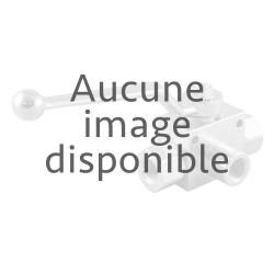 """Vanne à boisseau sphérique 3/4""""M/F laiton BP 2 voies"""
