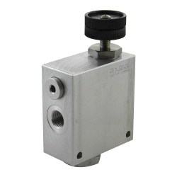 "2-way flow regulator 1"" VRFC2 V 100 A"