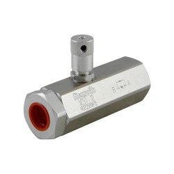 "2-way flow regulator 1/2""'"