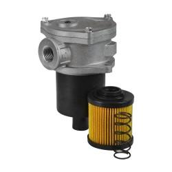 "Return filter - 60L - 1/2"" - Paper cellulose 25µ"