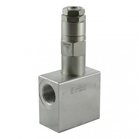 """Relief direct acting 150l/mn block 3/4"""" VSDC 150 34 (05 to 50 bar)"""