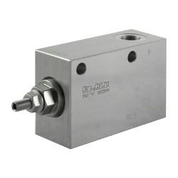 "Pressure reducer 20l/mn block 3/8"" VRP R 38 20 bar max settings with handwheel"