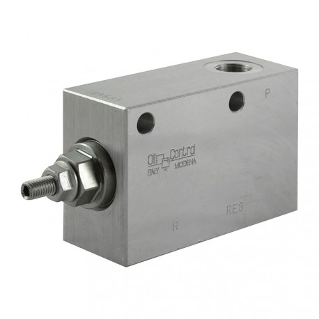 "Pressure reducer 20l/mn block 3/8"" VRP R 38 100 bar max"