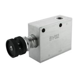 Réducteur 20l/mn bloc 3/8 VRP R VU 38 20 bar max réglage volant