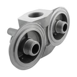 """Tête de filtre spin-on - Retour double parallèle -1""""1/2 by-pass 1,7b"""