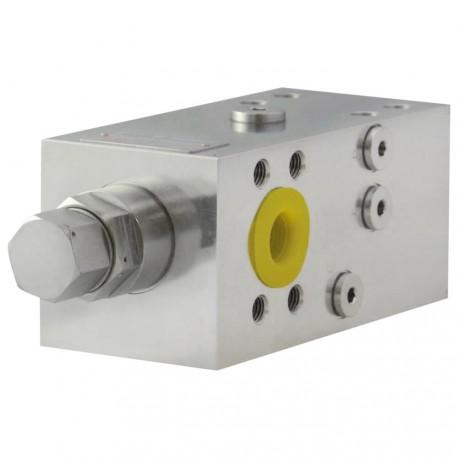 Valve d'équilibrage Simple Effet SAE A VBSO SE CCAP 42 EXC R FC 34 SAE.35D R22/1