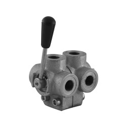 "Manual valve - 2x3V - 1/2"" - Open center"