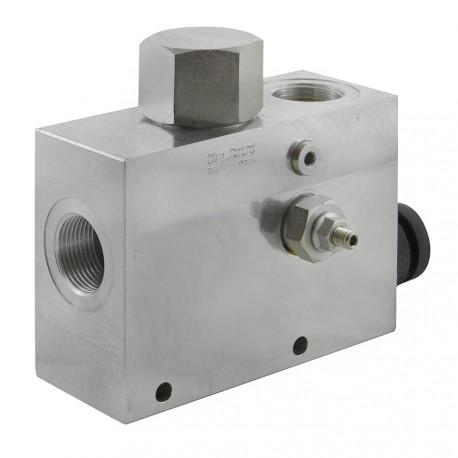 "3-ways flow regulator 3/8"" VRFC3 VS10 V 38A"