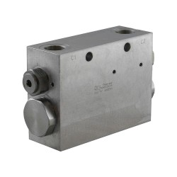 "Flow divider 50/50 1"" DRF 100.34 2VSO 95 ML C"
