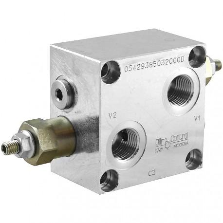 "Dual counterbalance 1/2"" VBSO DE 30 VF FM 12 20 C"