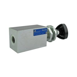 "Relief direct acting 60l/mn block 3/8"" CP10/3V (50/300 bar)"