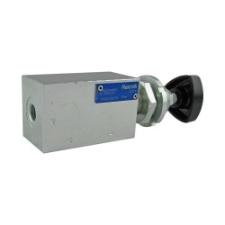 "Relief direct acting 20l/mn block 1/4"" CP7/3V (120/310 bar)"