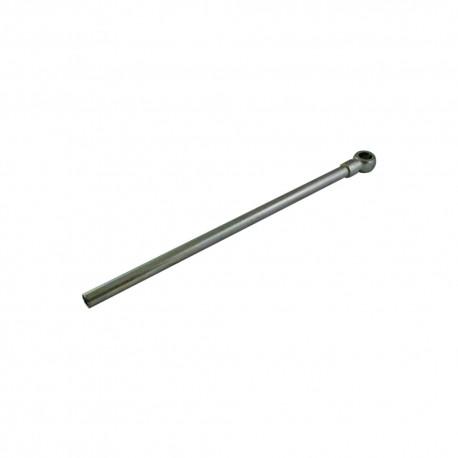 Tube lg 300mm vis banjo 1/4 pour clapet piloté (tube 12L/S)
