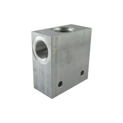 "Bloc 1"" aluminium cavité C16A"