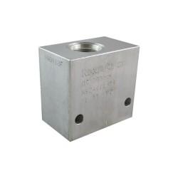 "Aluminium manifold 1"" CA 12A 2N cavité 089E"